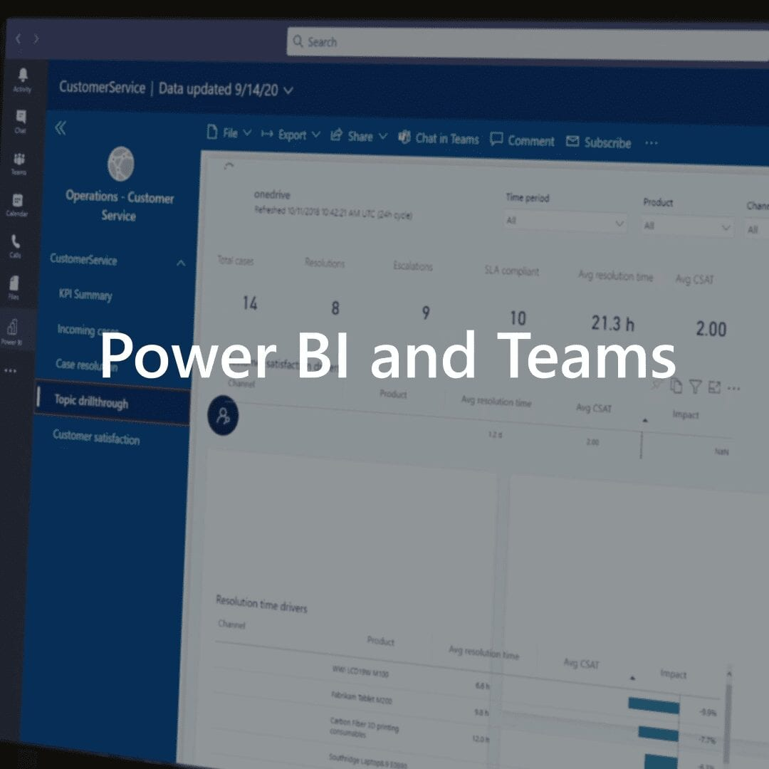Power BI | Microsoft Teams