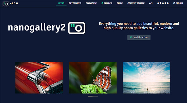 nanoGALLERY2 - 15 flashy jQuery plugins