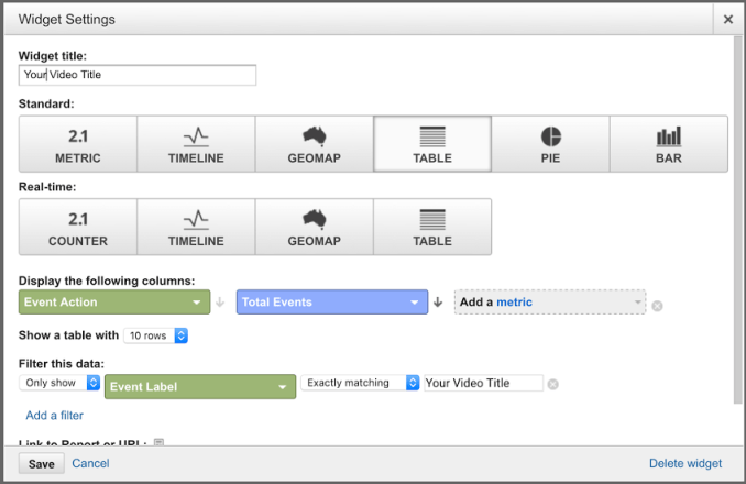 GA - Track HTML5 Video Views with Google Analytic