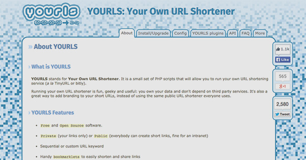 YOURLS - How to produce Custom, Trackable, Short URL's For all of your WordPress Posts and Pages