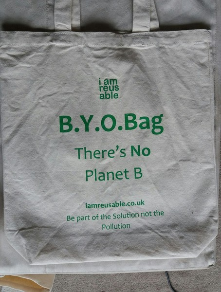 i am reusable - Buy a Cotton Bag