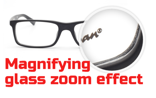 Create magnifying glass zoom effect using jQuery magnify