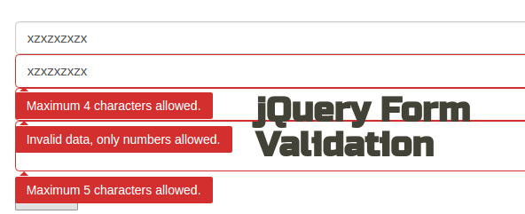 jquery-form-validation