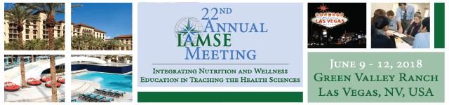 22nd Annual IAMSE Meeting