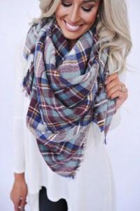 Shopping the Best Blanket Scarves for Fall