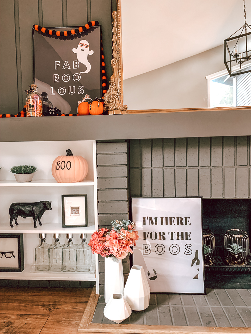 Easy Diy Halloween Home Decor Free Printable Halloween Wall Art