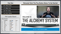 The Alchemy System - Free Training and Sales Funnel