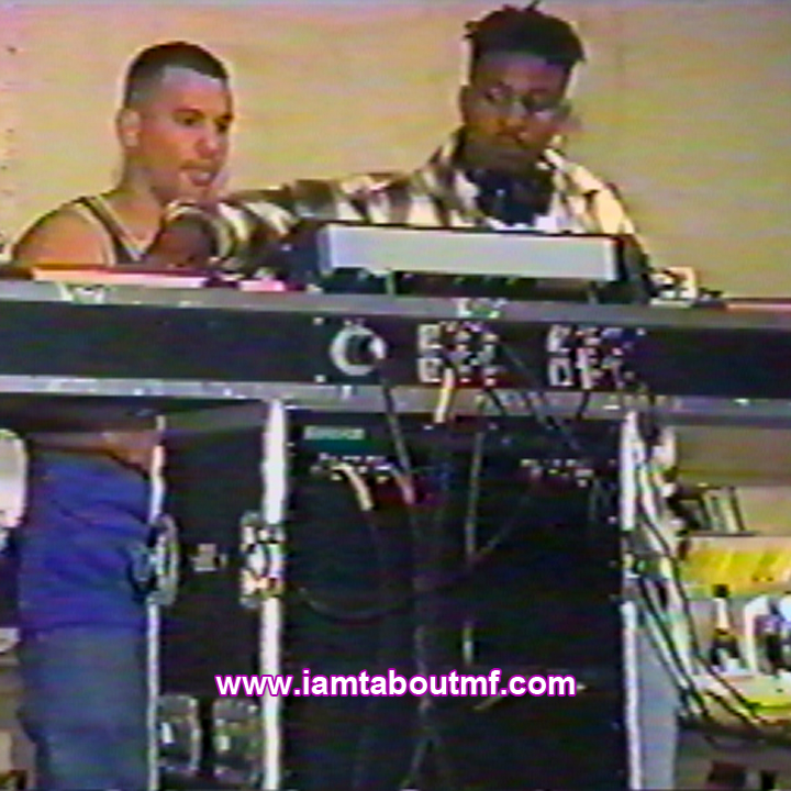 Throwback Thursday - Tabou TMF aka Undefinable One - Selecting Music Love playing with Stone Love