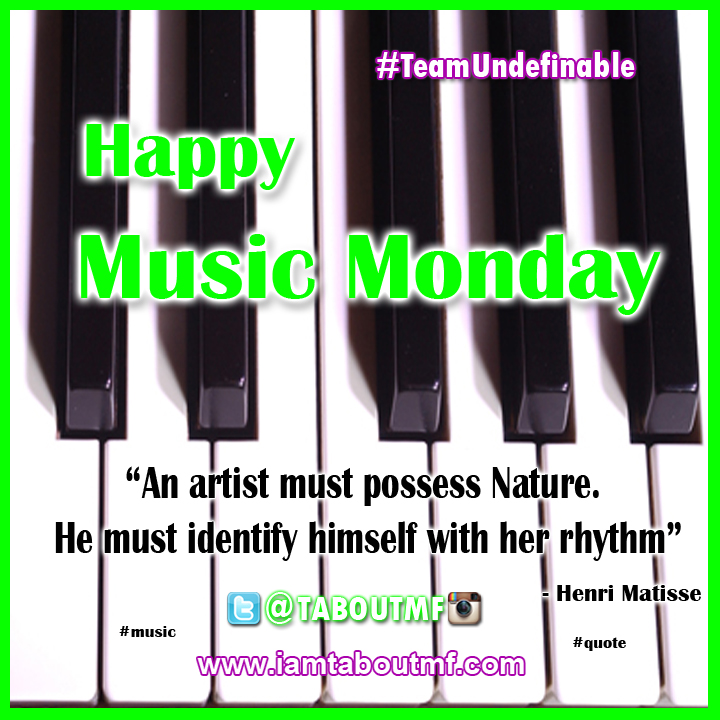 iamtaboutmf_Music Monday Nature Rhythm