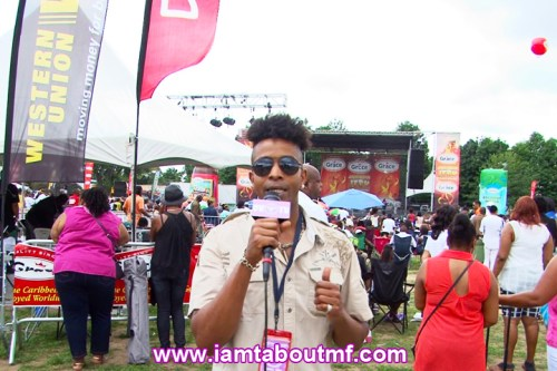 Tabou TMF aka Undefinable One at Grace Jamaican Jerk Festival in NY