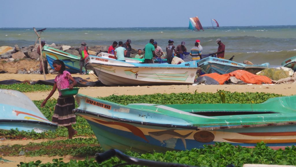 Het strand van Negombo