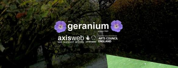 geranium landscape image