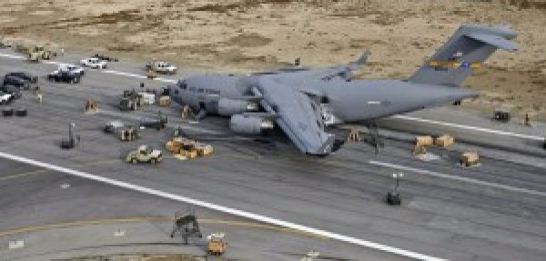 Crashed C-17:  a $200 million writeoff?