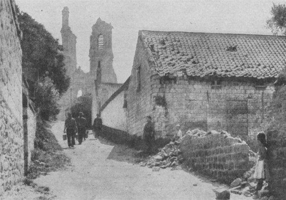 Village of Mont St. Eloi, 1917