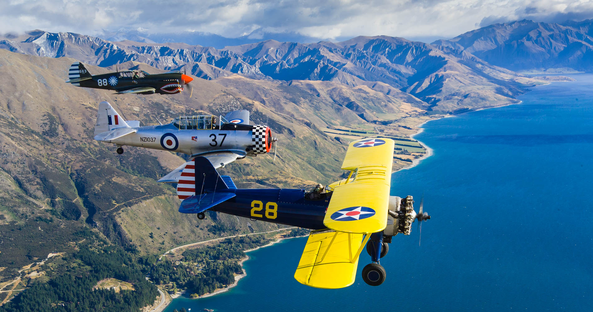 Aeronautica, Air to Air, New Zealand Aotearoa
