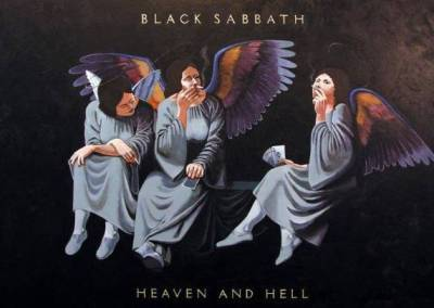 Black Sabbath Heaven and Hell Album Reproduction