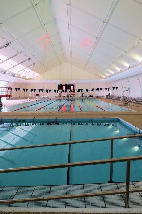 Centennial Pool inside