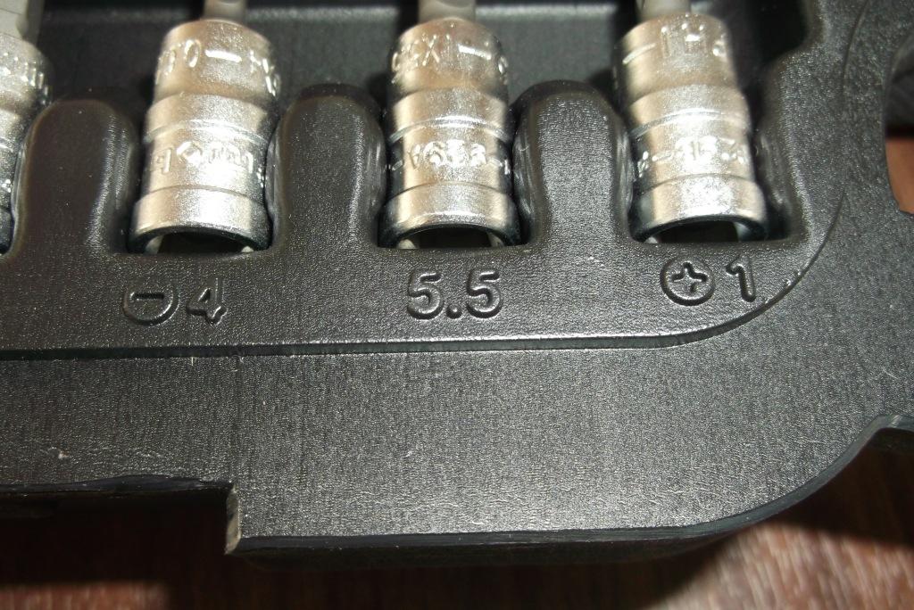 Ausstattung Steckschlüsselsatz