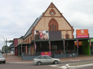 In South Australia traditional architecture of churches dates back to mid-1800s, about 150 years ago (click to enlarge).