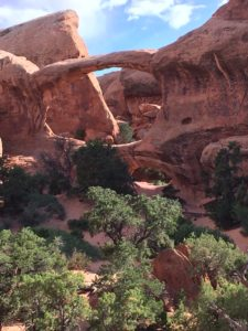 The stunning Double-O arch (pic 5). Look for small arch under big one.