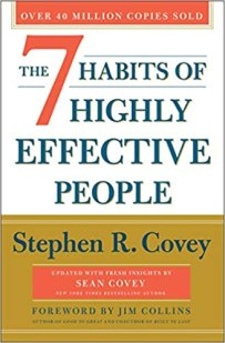 Cover of 7 Habits by Stephen Covey from the post Being Proactive