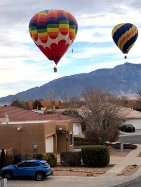 Hot air balloons in Albuquerque NM