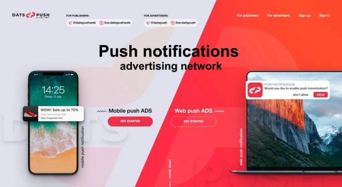 DatsPush Review – LeadBit Push Notification Ad Network