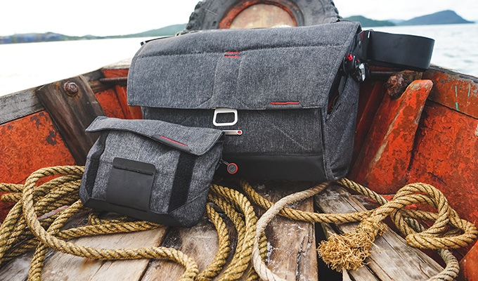 Everyday Messenger Bag and Field Pouch