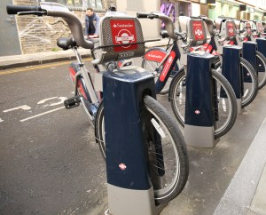 Boris-Bikes-in-Shoreditch