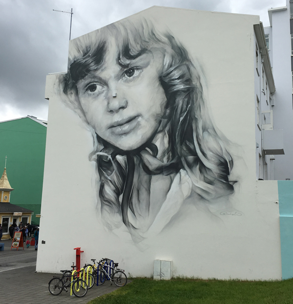 Fabulous street art from Akureyri by Guido van Helten