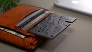 Pocket Tripod in a wallet