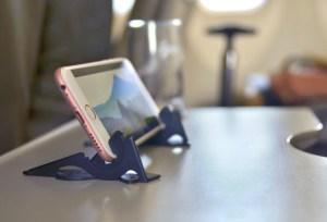 Pocket tripod in use