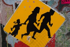 Street art in Clarion Alley San Francisco October 2017