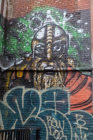 Vancouver street art near Gas Town