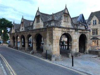 Chipping Campden Market Hall in the Cotswolds