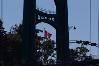 Lionsgate bridge, Vancouver