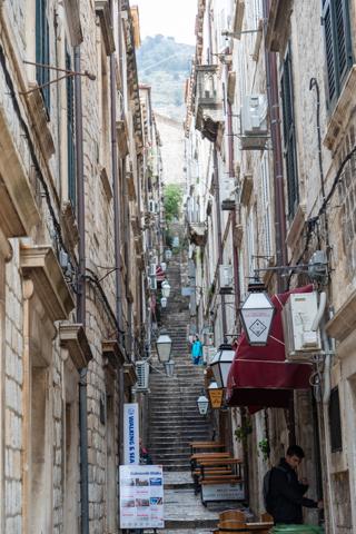 Dubrovnik Old Town alleys