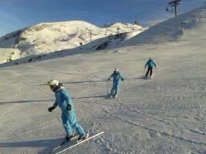 Ski School Training