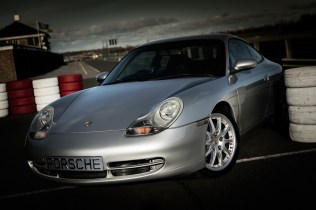 Porsche at Croft Autodrome