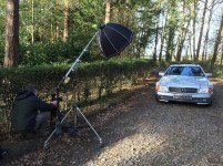 Behind the Scenes - Shooting a classic MB 280SL
