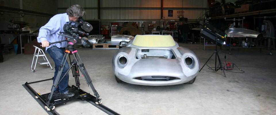 Film-and-Photo-Shoot-Production-Stills-9, Neville Swales' Jaguar XJ13 recreation
