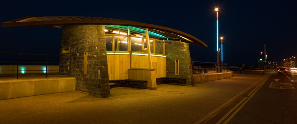 REDCAR SEAFRONT SHELTER
