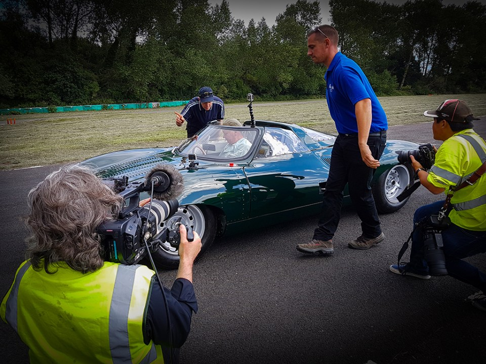 20160809_114508, Nevile Swales' Jaguar XJ13 at Curborough Sprint Track