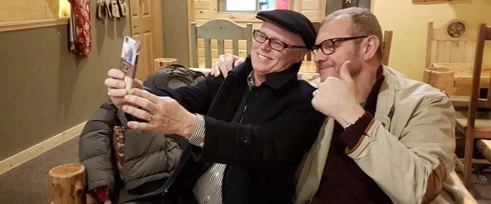 John meets the local Lutheran Pastor