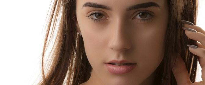 Pretty girl close up