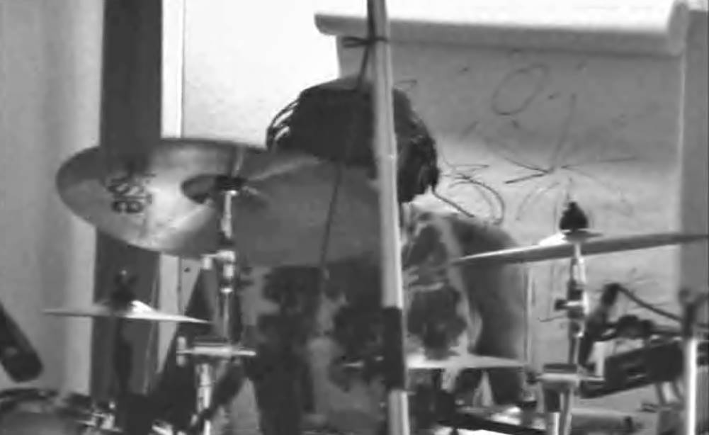 Chad Smith playing Paiste