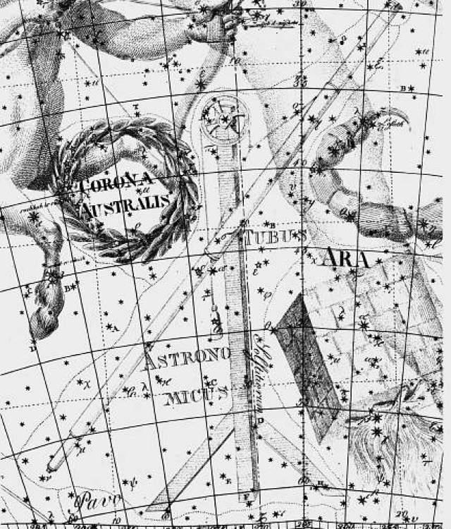 constelação telescópio