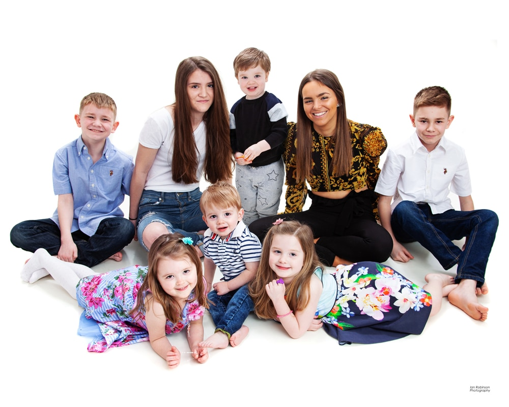Ian Robinson Photography Studio Family Portrait Photographers in Sale in Trafford
