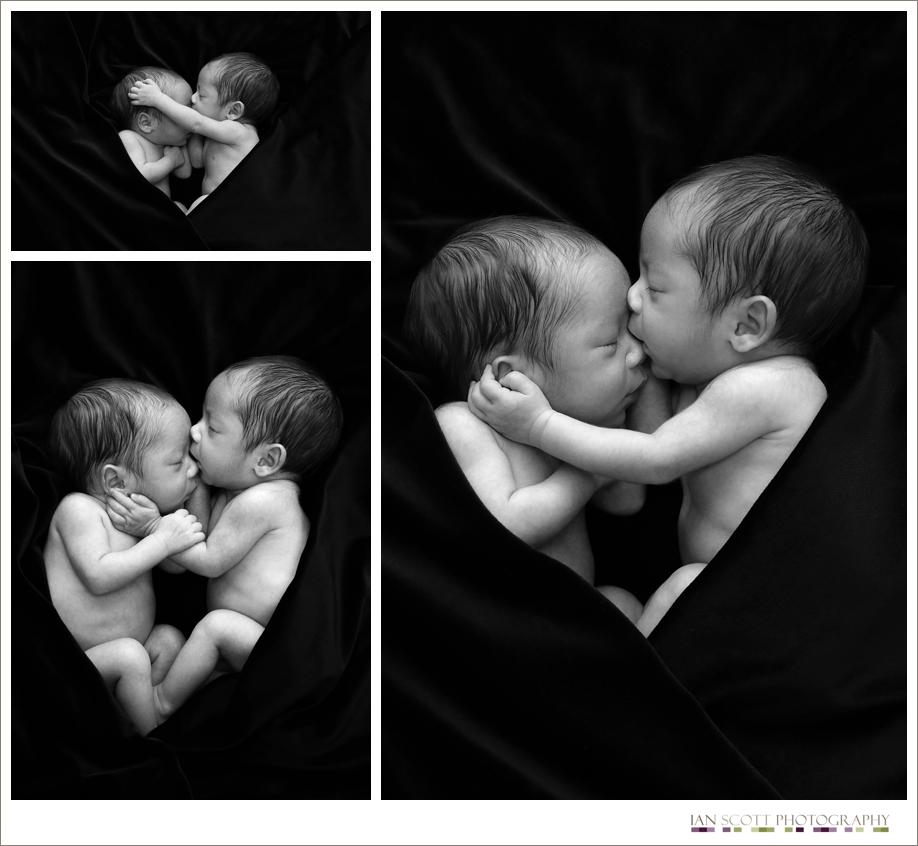 Newborn twins photo shoot   Ian Scott Photography Ian ...
