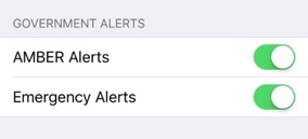 Government Alerts